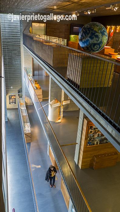 Interior del edificio del Museo del Pan, del arquitecto Roberto Valle. Mayorga. Valladolid. Castilla y León. España. ©Javier Prieto Gallego