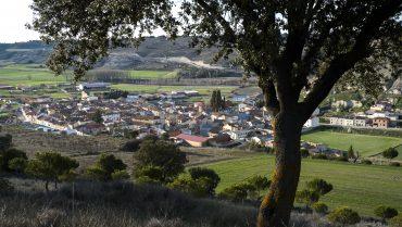 Cevico Navero desde lo alto de la cuesta de las Bodegas. Palencia. Castilla y León. España. © Javier Prieto Gallego