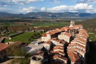 Frías desde la torre del homenaje del castillo. Valle de Tobalina. Burgos. Castilla y León. España © Javier Prieto Gallego