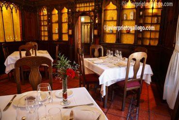 Comedor del Restaurante La Botica. Matapozuelos. Valladolid. Castilla y León. España © Javier Prieto Gallego