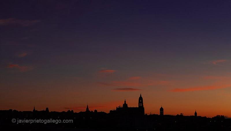 Anocher en Segovia. Castilla y León. España. © Javier Prieto Gallego