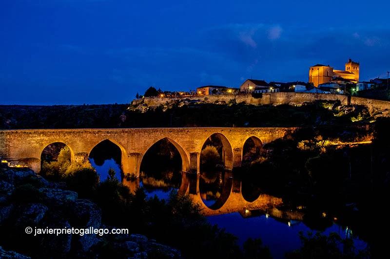 Anochecer en Ledesma (Salamanca) | Siempre de paso
