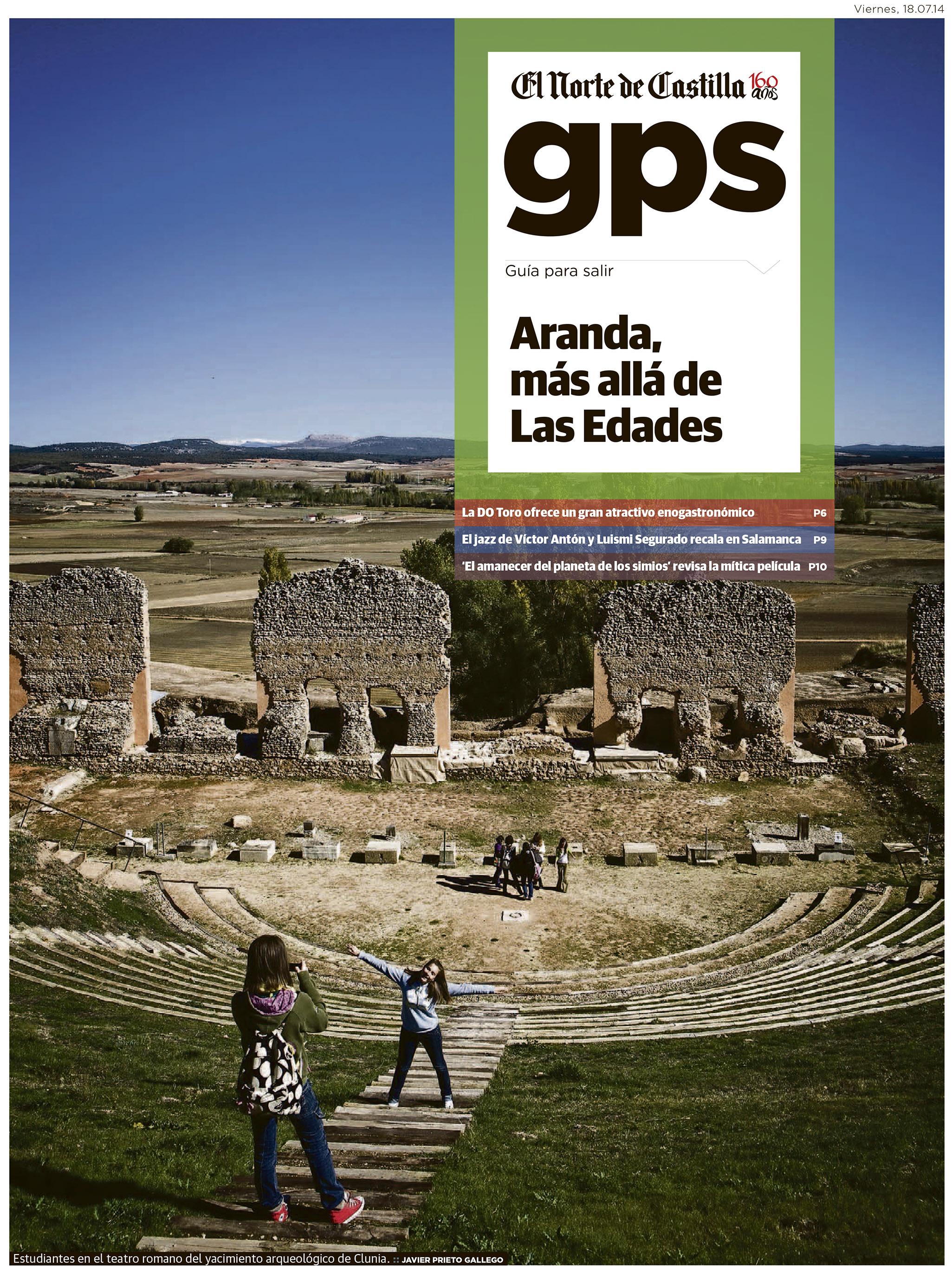 Un viaje en torno a Aranda de Duero. Reportaje de Javier Prieto Gallego en El Norte de Castilla