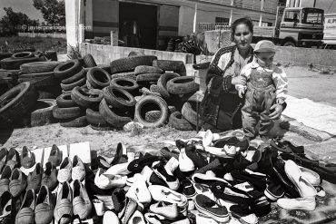 Mercadillo de Vilar Formoso en junio de 1995 Portugal © Javier Prieto Gallego]