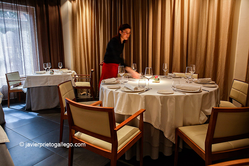 Comedor del Resturante Trigo. Valladolid.Castilla y León. España. © Javier Prieto Gallego