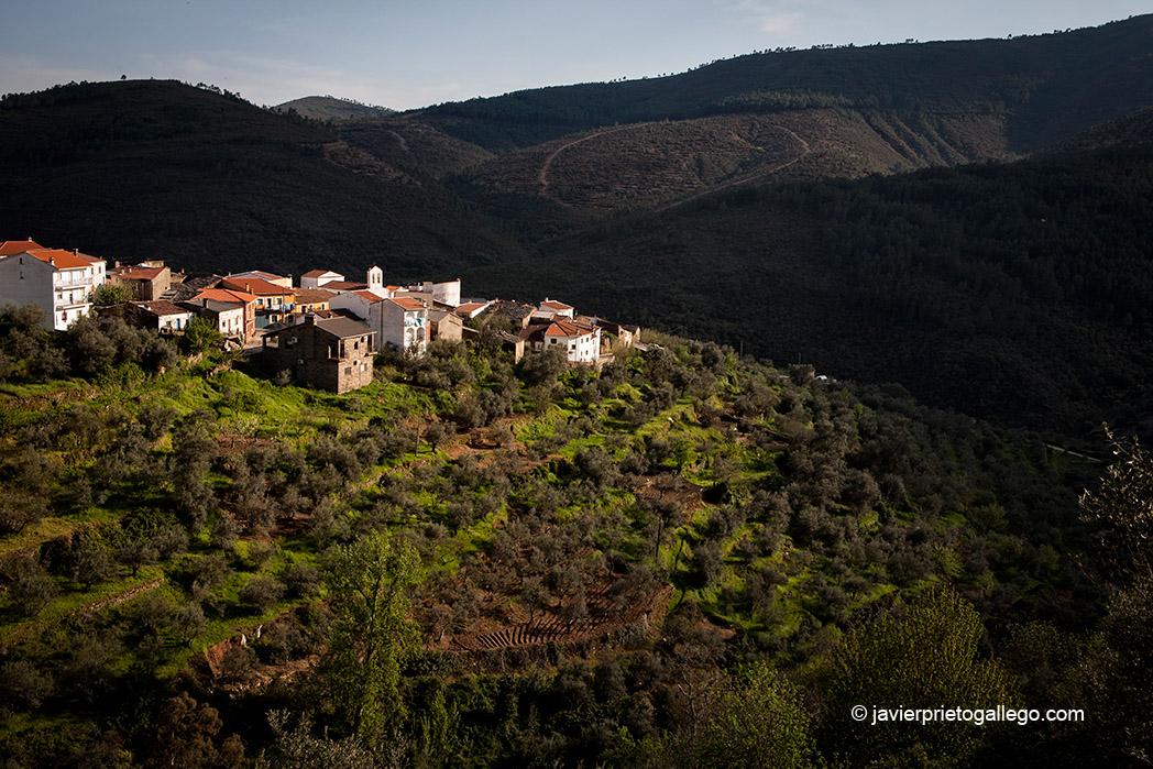 Localidad de Cabezo. Comarca de Las Hurdes. Cáceres. Extremadura. España. © Javier Prieto Gallego