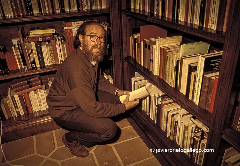 Reportaje gráfico realizado a Joaquín Díaz por encargo de la revista TIEMPO. 2 de junio de 1997. Nº 787. © Javier Prieto Gallego