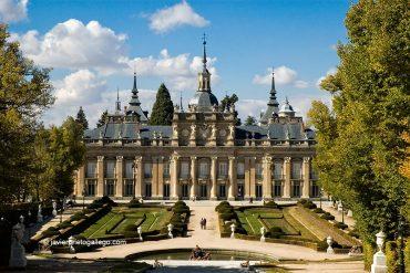 Fachada meridional del Palacio Real de La Granja de San Ildefonso. Segovia. España. © Javier Prieto Gallego;