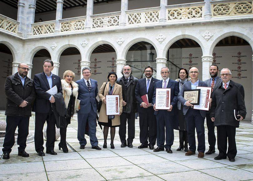 El Centro de Estudios Vacceos de la Universidad de Valladolid entrega los Premios Vaccea 2014. Palacio de Santa Cruz. Universidad de Valladolid,