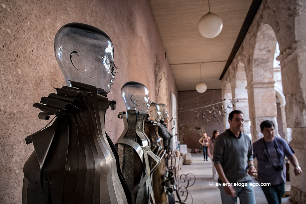 Obras de arte expuestas en el palacio Ducal de Medinaceli. Soria. Castilla y León. España. © Javier Prieto Gallego