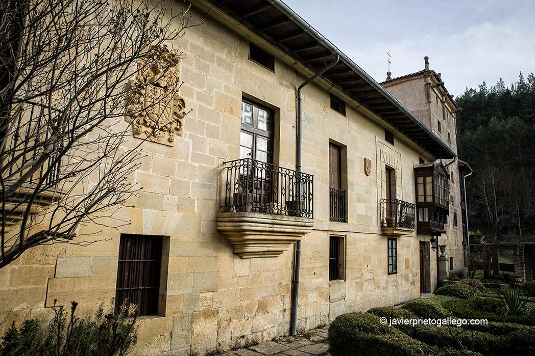 Palacio de los Bustillo. Localidad de Sedano. Burgos. Castilla y León. España. © Javier Prieto Gallego