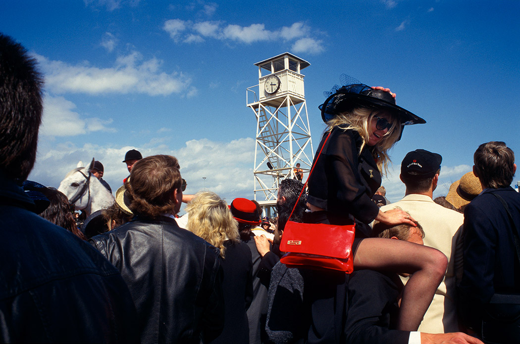 Copa de Australia.Hipódromo de Flemington, Melbourne, Australia 1996 © Javier Prieto Gallego;