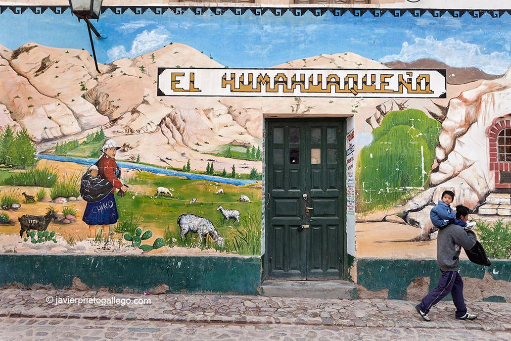 Localidad de Humahuaca. Quebrada de Humahuaca. Provincia de Jujuy. Región Norte Argentino. Argentina © Javier Prieto Gallego