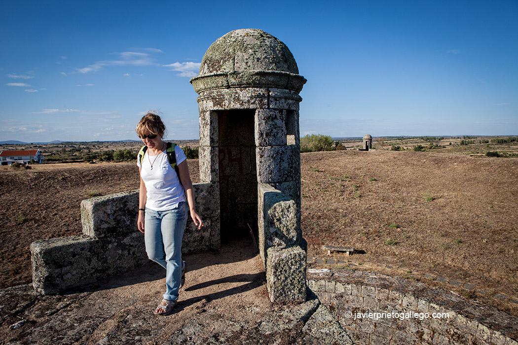 Garitas en las murallas de la fortificación de Almeida. Región de Beira. Portugal. © Javier Prieto Gallego