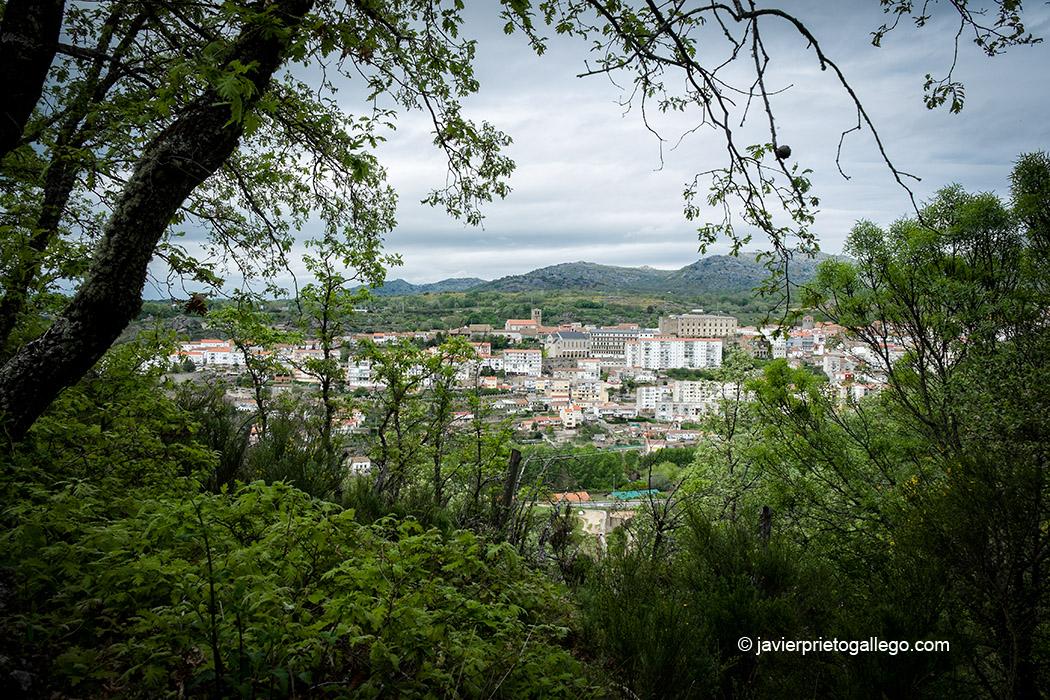 Béjar desde la Senda del Cedro de la Francesa. Béjar. Salamanca. Castilla y León. España © Javier Prieto Gallego;