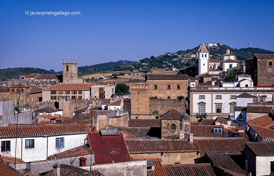 Vista del casco histórico de Cáceres. Extremadura. España. © Javier Prieto Gallego