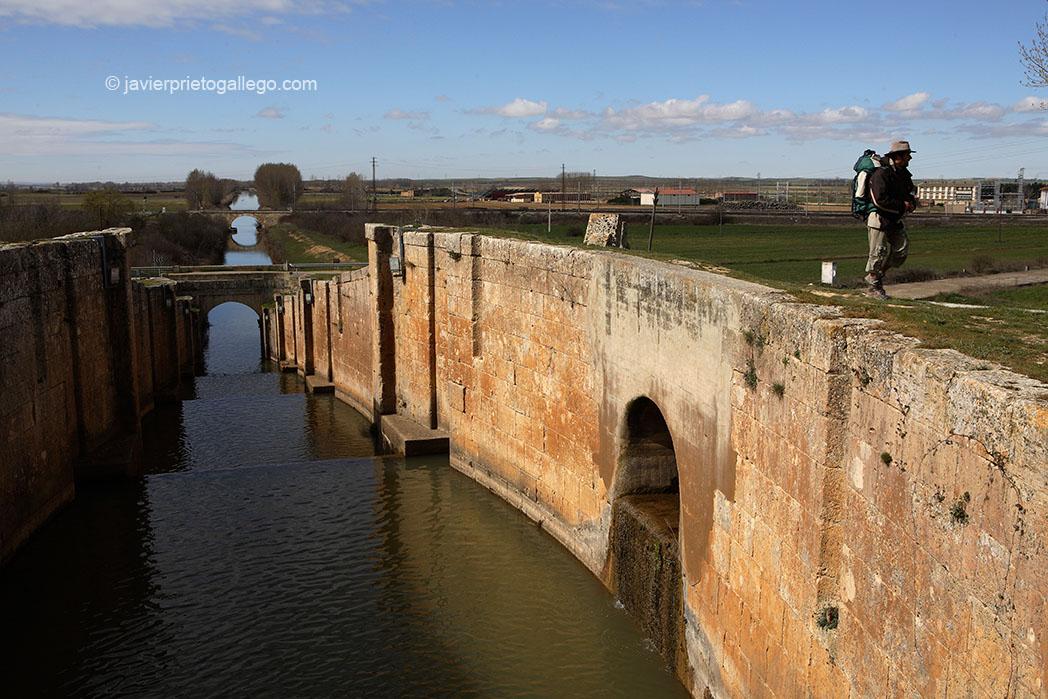 Esclusa de Fromista. Canal de Castilla. Palencia. Castilla y León. España © Javier Prieto Gallego
