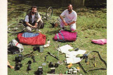 """Javier Prieto Gallego y Pablo Genovés Azpeitia, autores del libro """"Castilla y León punta a punta. 25 rutas para el fin de semana"""""""
