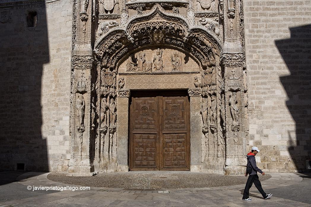 Fachada del Colegio de San Gregorio. Valladolid. Castilla y León. España © Javier Prieto Gallego
