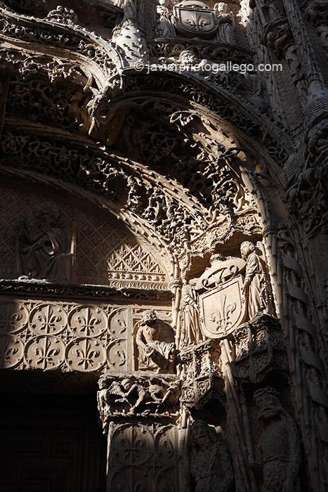 Detalle. Fachada del Colegio de San Gregorio. Valladolid. Castilla y León. España © Javier Prieto Gallego