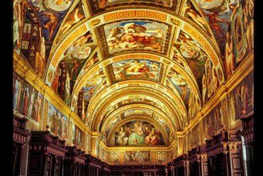 Real Biblioteca de El Escorial. Madrid. España, 1998 © Javier Prieto Gallego;