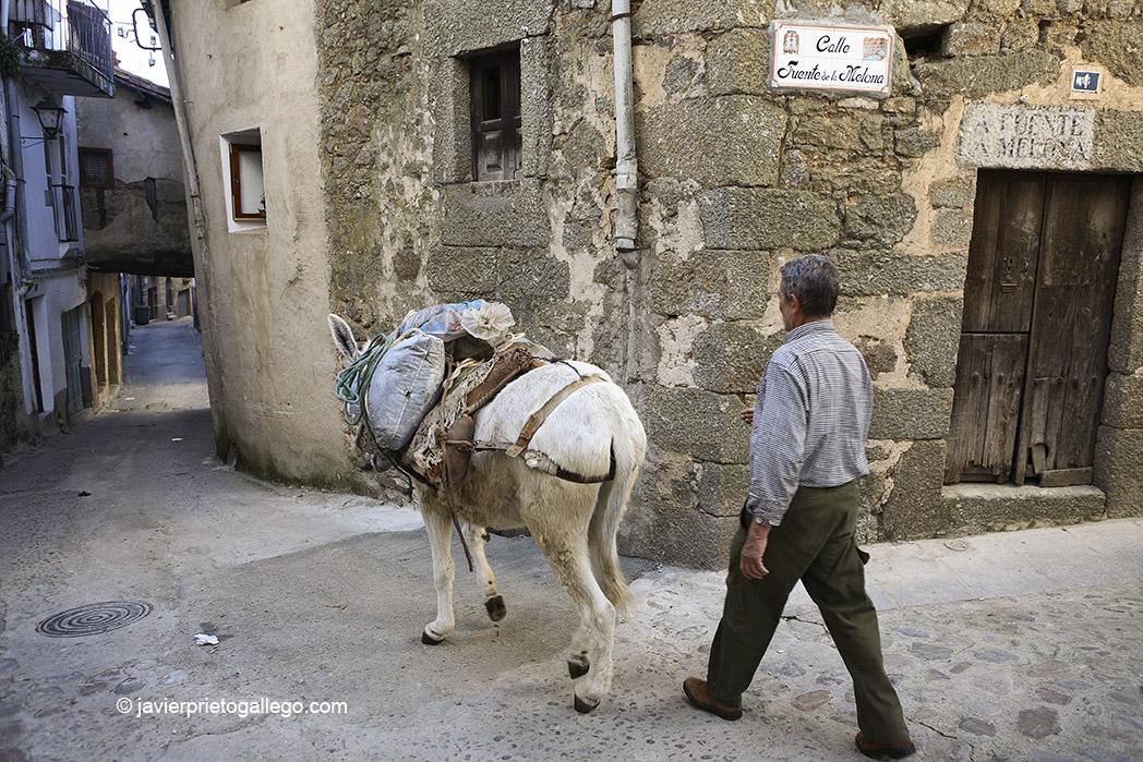 Casco urbano tradicional de la localidad de Gata. Sierra de Gata. Extremadura. España, 2007 © Javier Prieto Gallego