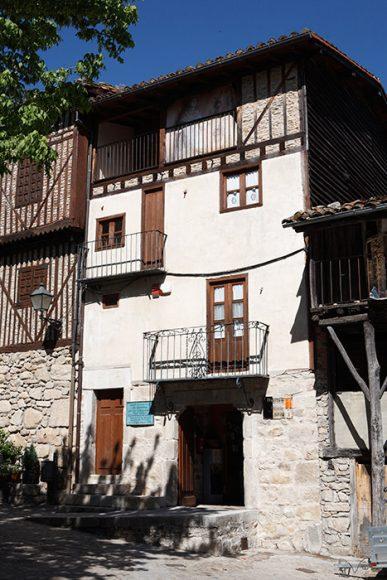 Museo Etnográfico o Casa de las Artesanías. Plaza Mayor. Localidad de Mogarraz. Salamanca. Castilla y León. España. © Javier Prieto Gallego