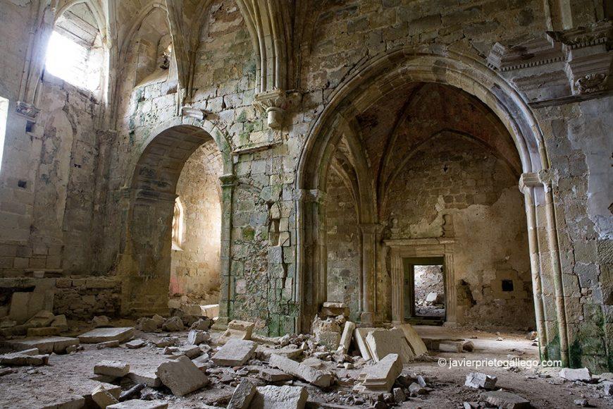 Santa María de Rioseco. Siglo XIII. Cañones del Ebro. Burgos.Castilla y León. España 2008 © Javier Prieto Gallego