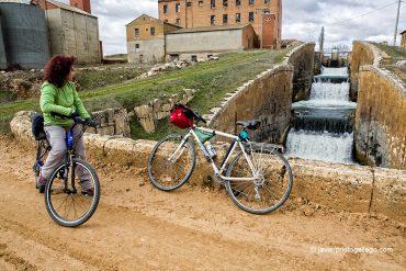 Esclusas 25-27 en el Serrón. Cerca de Grijota. Canal de Castilla. Ramal de Campos. Palencia. Castilla y León. España © Javier Prieto Gallego