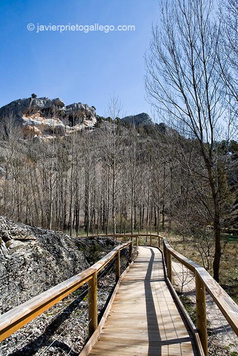 Monumento natural de La Fuentona. Soria. Castilla y León. España © Javier Prieto Gallego