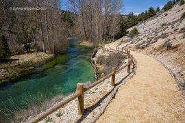 Nacimiento del río Abión. Monumento natural de La Fuentona. Soria. Castilla y León. España © Javier Prieto Gallego