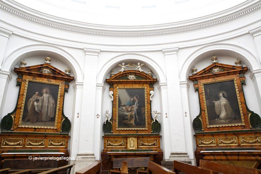 Cuadros Realizados por Goya. Museo. Iglesia del Monasterio de San Joaquín y Santa Ana. Valladolid. Castilla y León. España. © Javier Prieto Gallego