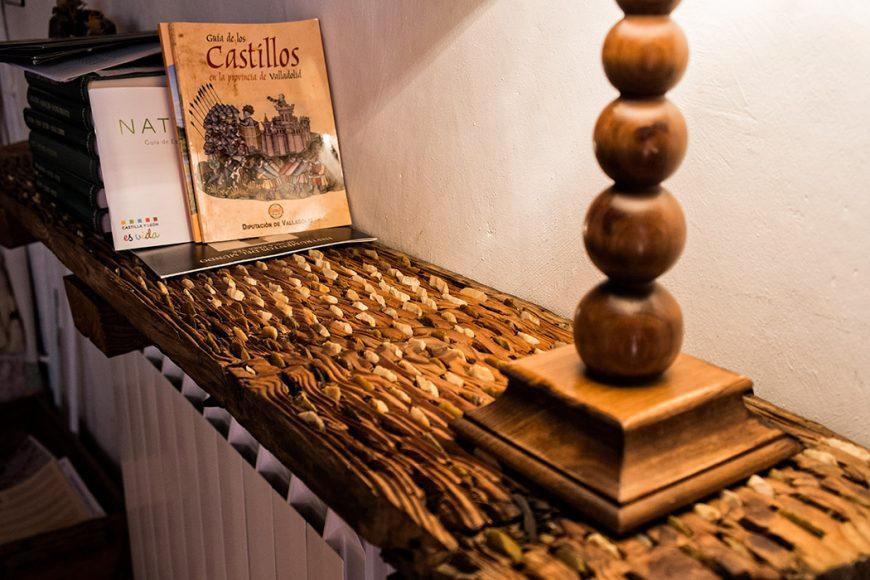 """Salón. Casa rural """"Vega del Duero"""". Roturas. Valladolid. Ribera del Duero. Castilla y León. España. © Javier Prieto Gallego"""