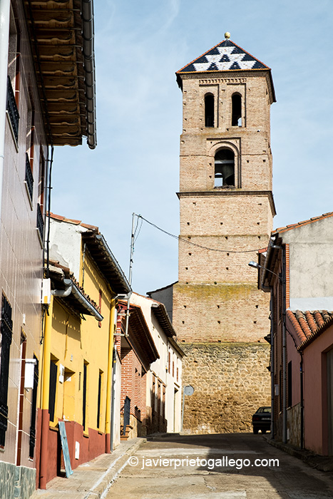 Iglesia de Santa María de Arbas. Mudéjar. Siglo XV. Mayorga. Valladolid. Castilla y León. España. ©Javier Prieto Gallego