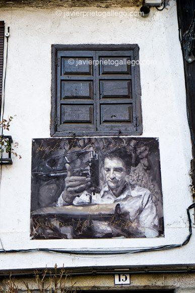 Retrato de un artesano perteneciente a la exposición Retrata2-388. Mogarraz. Sierra de Francia. Salamanca. Castilla y León. España © Javier Prieto Gallego