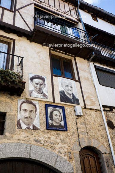Retratos pertenecientes a la exposición Retrata2-388. Mogarraz. Sierra de Francia. Salamanca. Castilla y León. España © Javier Prieto Gallego