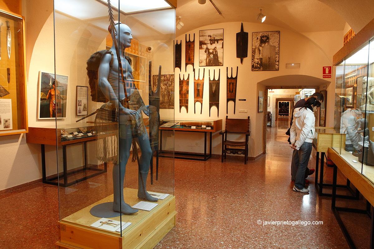 Hombre igorrote. Tribu del norte de la isla de Luzón. Museo Oriental. Valladolid. Castilla y León. España © Javier Prieto Gallego