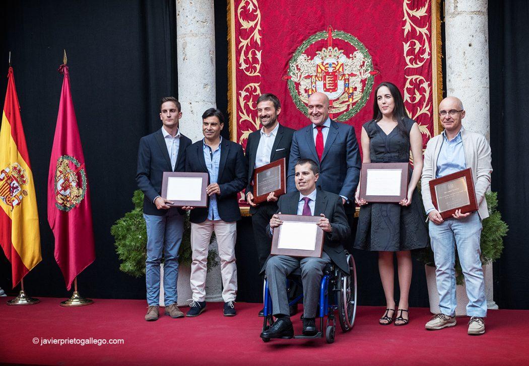 Entrega de los Premios de Periodismo Provincia de Valladolid. Premio de Periodismo Modalidad Digital. Palacio de Pimentel. Valladolid. Castilla y León. España © Javier Prieto Gallego