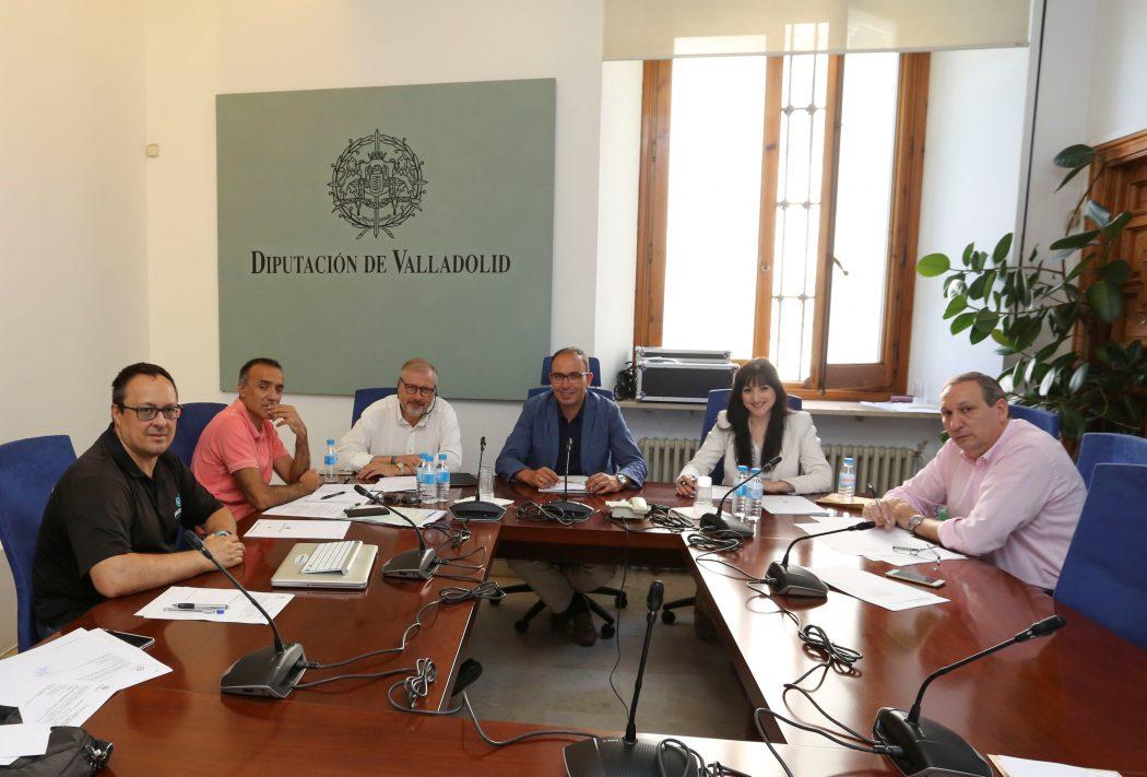 Jurado del 21º Premio de Periodismo Provincia de Valladolid.