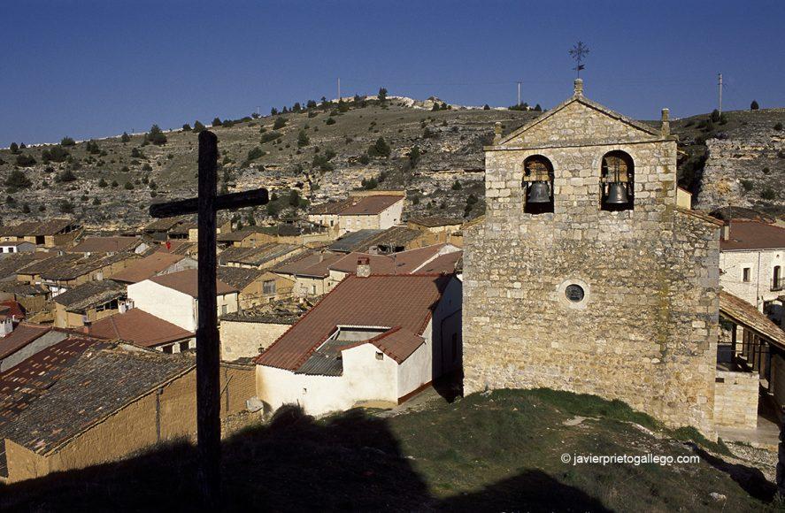 Iglesia de la Asunción. Castillejo de Robledo -en cuyos alrededores tuvo lugar la Afrenta de Corpes-. Camino del Cid. Soria. España. © Javier Prieto Gallego;