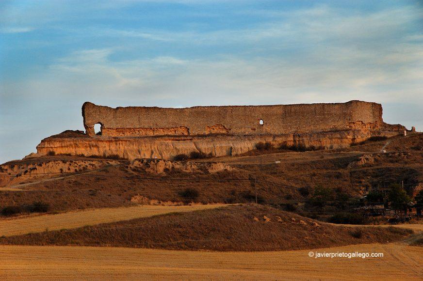 Ruinas del castillo de San Esteban de Gormaz. Camino del Cid. Soria. España.  © Javier Prieto Gallego;