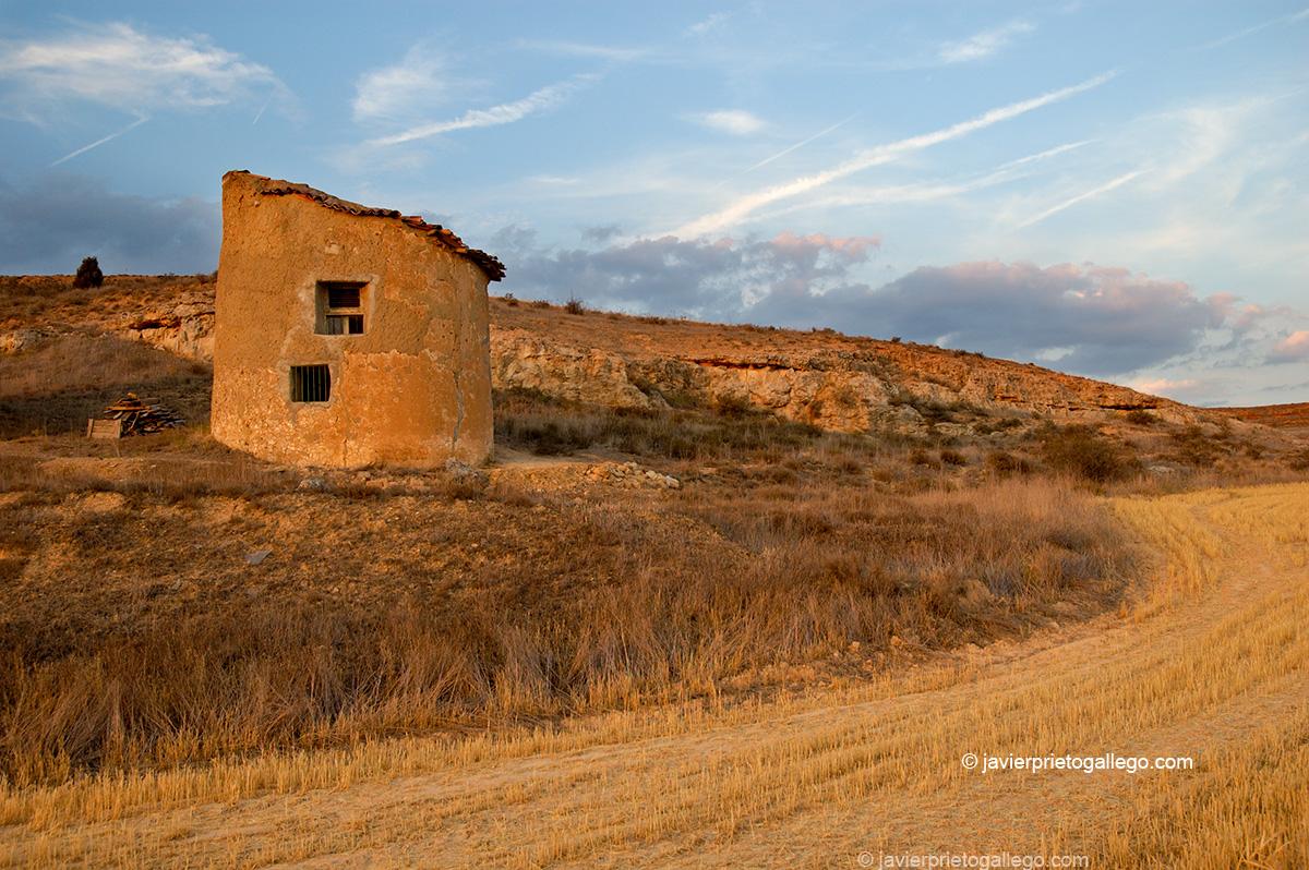 Palomar en las cercanías de San Esteban de Gormaz. Camino del Cid. Soria. España.