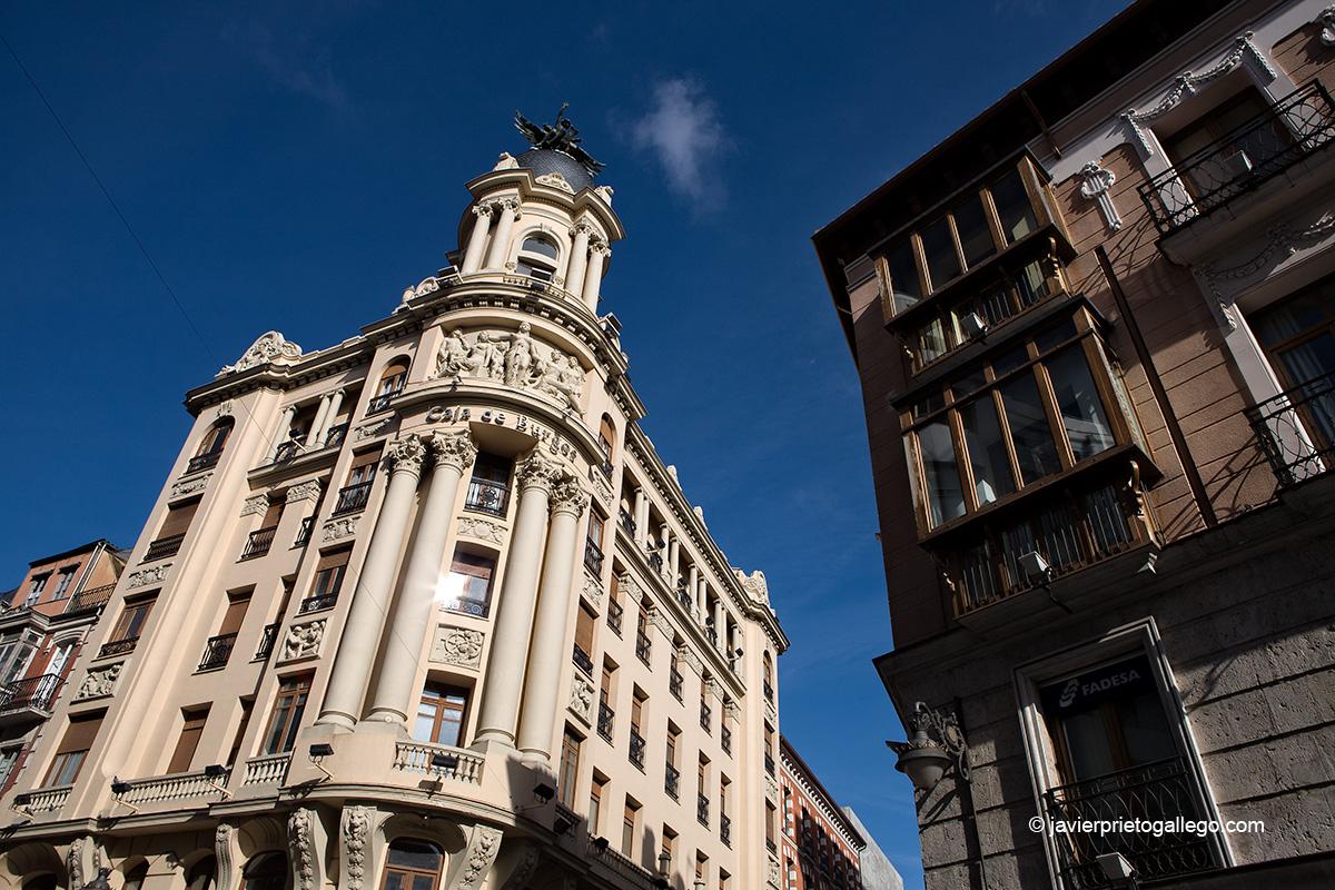 Calle Santiago de Valladolid. Valladolid. Castilla y León. España. © Javier Prieto Gallego