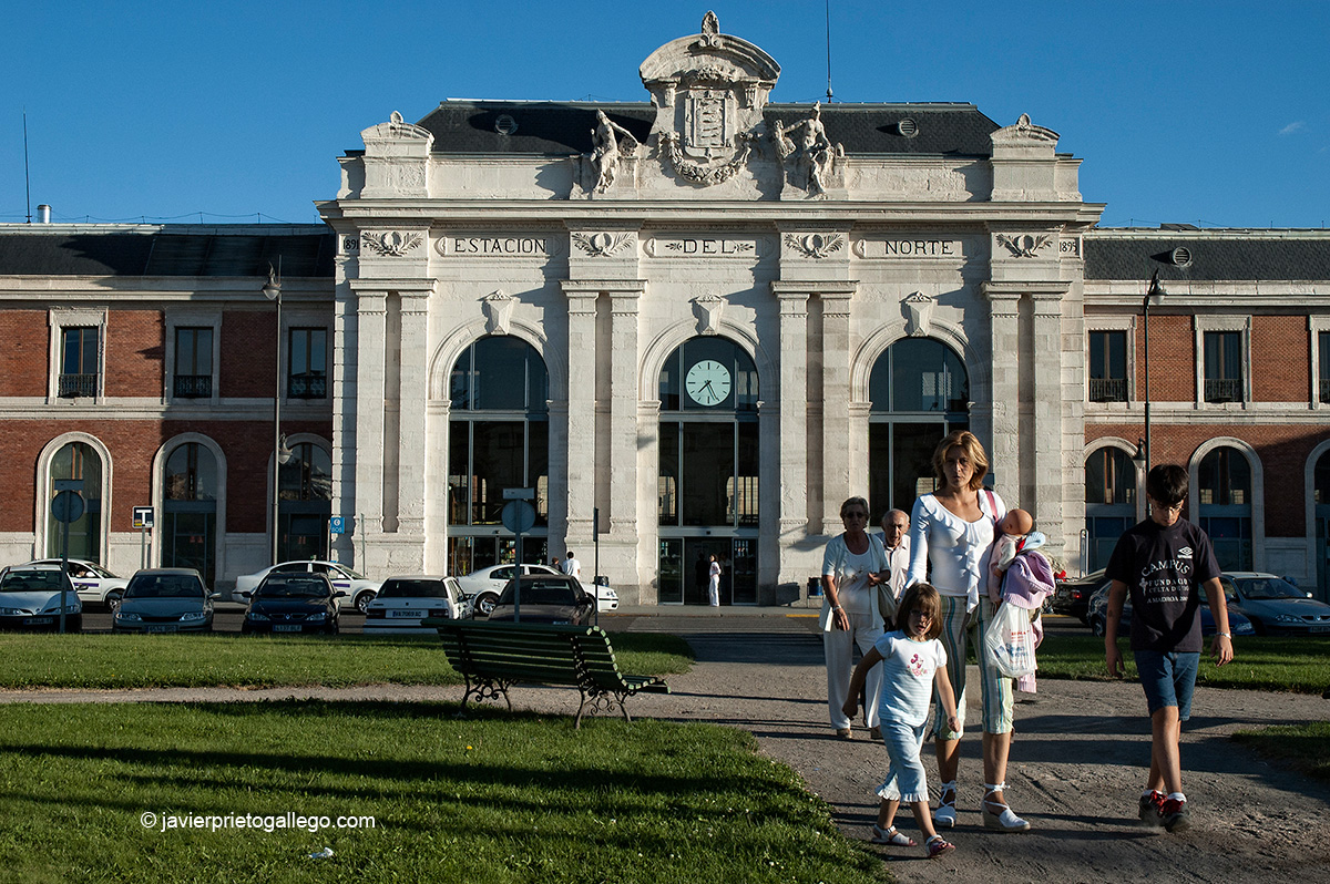 Estación del Norte. Valladolid. Castilla y León. España. © Javier Prieto Gallego