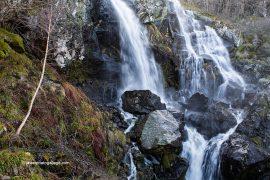 Los arroyos Cabriteño y Pingón forman las cascadas de Sotillo. Sotillo de Sanabria. Parque Natural Lago de Sanabria y alrededores. Zamora. Castilla y León. España © Javier Prieto Gallego