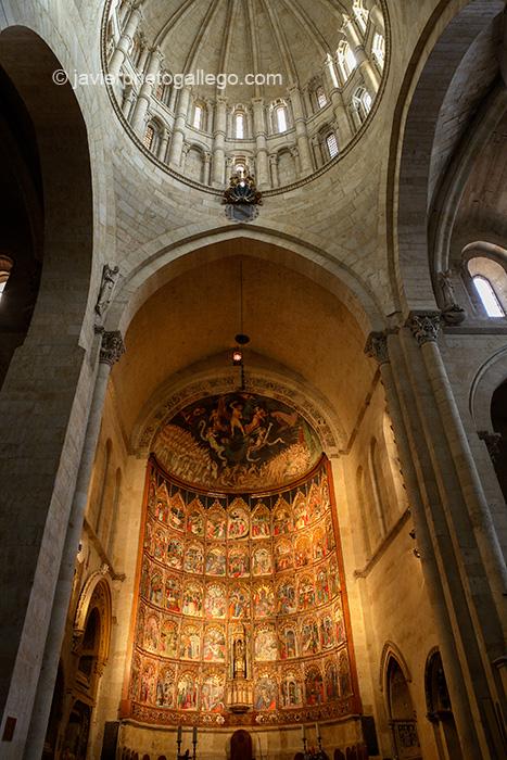 Retablo mayor. Catedral Vieja. Salamanca. Castilla y León. España. © Javier Prieto Gallego