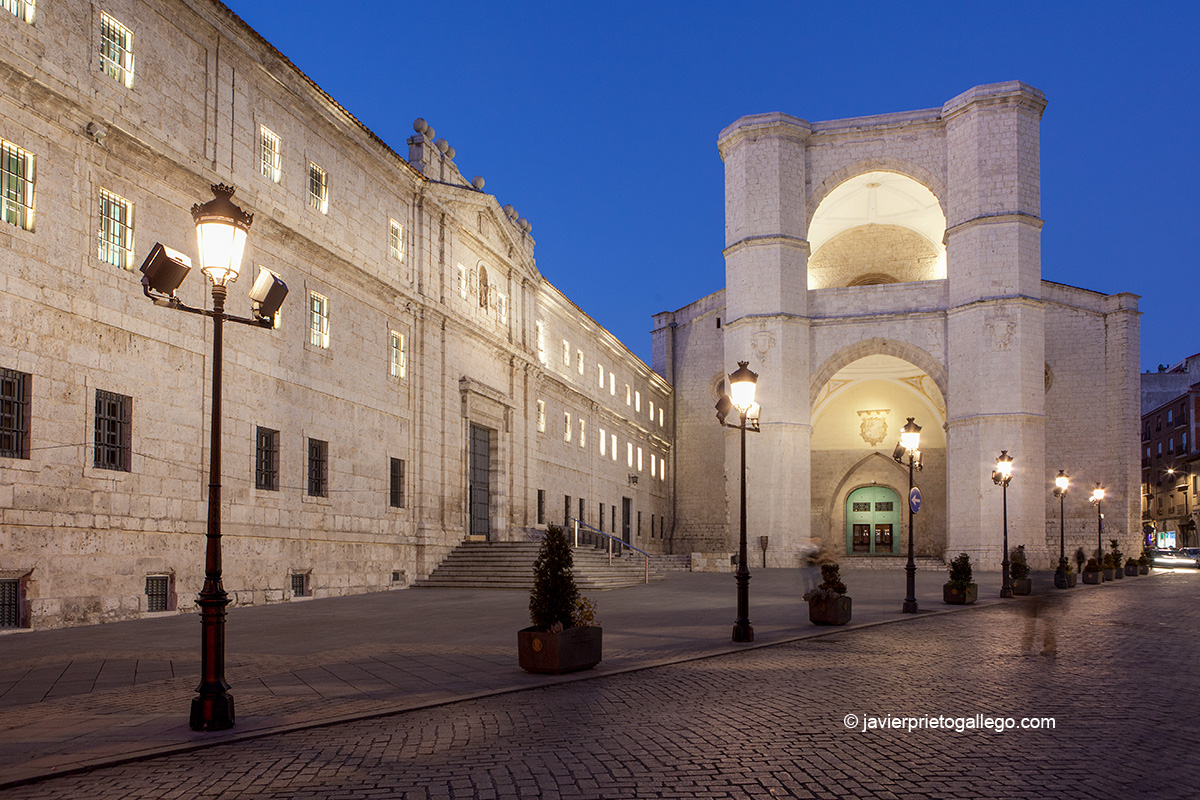 Iglesia y monasterio de San Benito. Valladolid. Castilla y León. España. © Javier Prieto Gallego