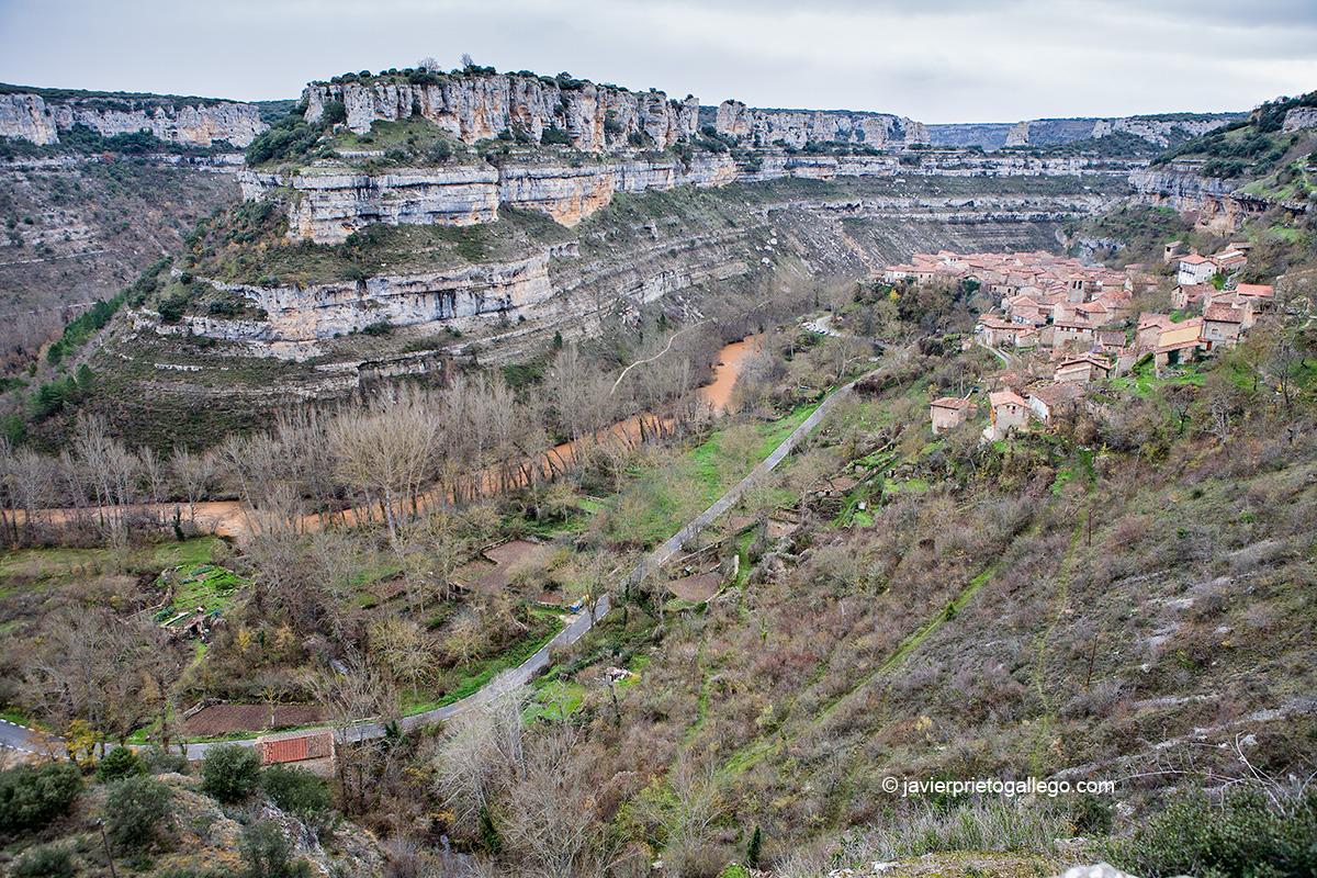 Mapa Orbaneja Del Castillo Burgos.Como Visitar Orbaneja Del Castillo Sin Colapsar La