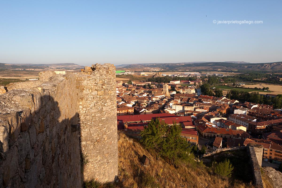 Castillo de Aguilar de Campoo. Palencia. Castilla y León. España © Javier Prieto Gallego