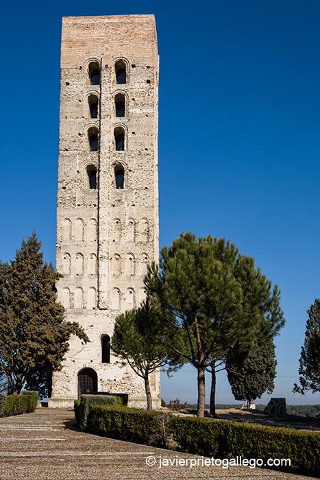 Torre de San Nicolás.siglo XIII. Localidad de Coca. Segovia. © Javier Prieto Gallego